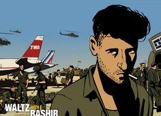 Waltz with Bashir - pray and shoot