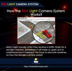 Red Light Camera System. How The Red Light Camera System Works? Many Might  Wonder When They Receive A Traffic Ticket For A Red Light Violation.