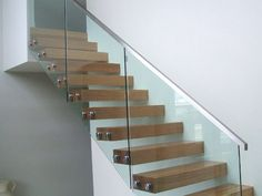 Stainless Steel Glass Balustrade with Standoffs