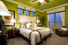 "I just ""Love"" this Master Bedroom. Stylecraft Builders"