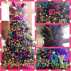 Big, BOLD and Bright! Decorated by:  A Shop Around the Corner! New Braunfels, TX