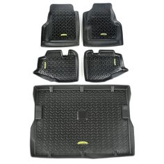 Need an affordable solution to keep the cabin floors of your vehicle looking factory fresh? This Floor Liner kit features a durable OE-quality thermoplastic material that can withstand the rigor of da Jeep Wrangler Parts, 2006 Jeep Wrangler, Jeep Parts, Jeep Tj, Jeep Wranglers, Jeep Wrangler Tj Accessories, Cool Jeep Accessories, Black Jeep, Cool Jeeps