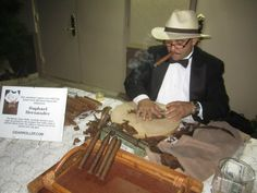 Hand Rolled Cigars for guests.