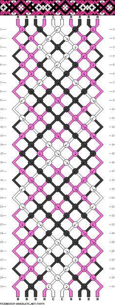 Afbeeldingsresultaat voor pulsera hilo patron