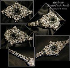 mnartists.org   Erin Bakke-Karlstad   Chain Maille Jewelry: Bracelet