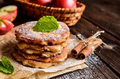 Enjoy our collection of online recipes from kitchens like yours. Browse breakfast recipes, lunch recipes, dinner recipes, dessert recipes and more. Breakfast And Brunch, Brunch Recipes, Breakfast Recipes, Dinner Recipes, Pancakes Protein, Cooked Apples, Apple Fritters, Apple Desserts, The Best