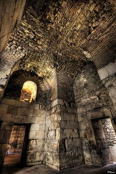 Diocletian Palace Guesthouse, Split, Croatia #croatia #hrvatska