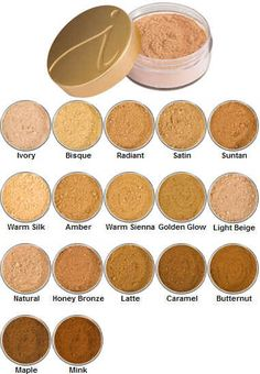 Jane Iredale Mineral Powders