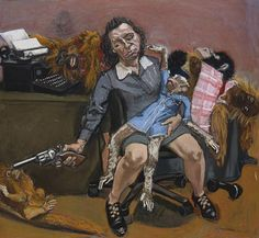 """Untitled"" - Paula Rego, around 1990."