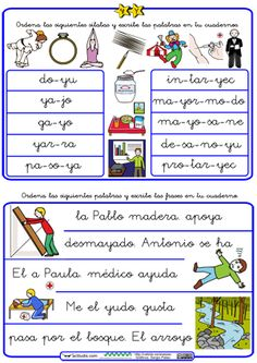 Printables, Content, Map, School, Frases, Funny Math, Phonological Awareness, Cursive, Reading Comprehension