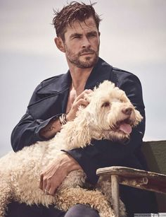 Chris Hemsworth Talks Family, Kids in GQ Australia Interview Chris Hemsworth Thor, Adelaine Kane, Gq Australia, Hemsworth Brothers, Image Fun, Man Thing Marvel, Marvel Actors, Thor Marvel, Daddy Issues