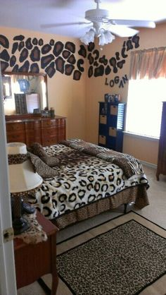 Keen Animal Print Bedroom Decor