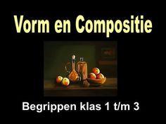 Begrippen klas 1 t/m 3. Vorm 1.Plat of ruimtelijk 2.Vormsoort 3.Vormcontrast 4.Andere begrippen.