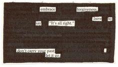 "embrace.  I love the word ""embrace""."