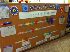 Velcro numicon line at child height. Year 1 Maths, Early Years Maths, Early Years Classroom, Early Math, Early Learning, Maths Eyfs, Eyfs Classroom, Classroom Activities, Number Activities