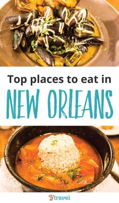 Best places to eat in New Orleans. Put these 11 New Orleans Restaurants on your itinerary for your trip to NOLA to taste some of the best food in the USA. #NewOrleans #NOLA #food #foodie #restaurants #travel #familytravel #cajun #creole