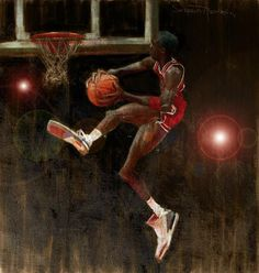 Air Jordan Art Print by Jumaane Sorrells-Adewale. All prints are professionally printed, packaged, and shipped within 3 - 4 business days. Choose from multiple sizes and hundreds of frame and mat options. Basketball Art, Basketball Legends, Basketball Pictures, Sports Pictures, Basketball Videos, Jordan Basketball, Basketball Shirts, Art Michael Jordan, Michael Jordan Pictures