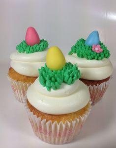 Easter cupcakes, pääsiäiskuppikakut