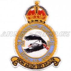 Nášivka 312. stíhací peruť RAF