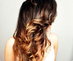 ombre hair by marina loredo