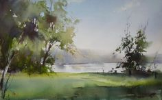 Ilya Ibryaev   - Plein Air - watercolor - 53х35 cm