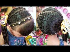 PEINADO/ ESTERILLADO Y TEJIDO PANAL EN RECOGIDO DE LADO/ Peinados Rakel 6 - YouTube Hair Inspiration, Dreadlocks, Youtube, Beauty, Hair Ideas, Cami, Hairstyles, Child Hairstyles, Hairstyles Videos