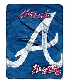 Atlanta Braves Throw Blanket
