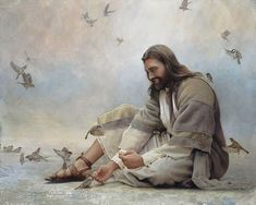 Choose your favorite jesus christ paintings from millions of available designs. All jesus christ paintings ship within 48 hours and include a money-back guarantee. Jesus Christ Painting, Jesus Art, Jesus Our Savior, Jesus Is Lord, Lds Art, Bible Art, Image Jesus, Pictures Of Jesus Christ, Jesus Christus