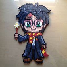 Harry Potter hama perler beads by Lauro Espinosa Val