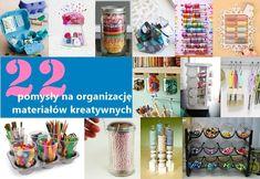 22 pomysły na organizację materiałów kreatywnych już na twojediy.pl 22 ideas for organizing creative materials Catgirl, Craft Organization, Content, Cats, Diy, Catwoman, Gatos, Bricolage, Do It Yourself