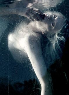 Kristen McMenamy by Tim Walker for W magazine.