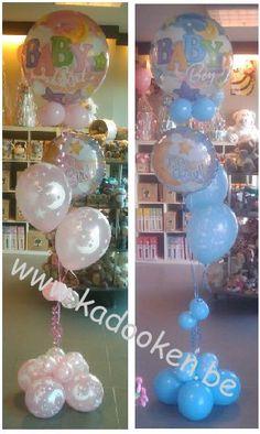 Bubble deco, Geboorteballonnen, ballonnen geboorte, balloons, heliumballonnen, heliumballons, geboorte