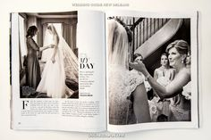 ALWAYS EXCITED TO SEE MY WORK IN PRINT. Magical and special wedding day moments between brides and their mothers. / The Ritz-Carlton, New Orleans, Louisiana / Claire and Marie Claire at the Immaculate Conception Jesuit Church / Published in the Wedding Guide New Orleans. / New Orleans Weddings / New Orleans, Louisiana / New Orleans Wedding Photographer / Oscar Rajo - Photographer / www.oscarrajo.com