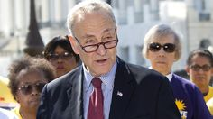 "Incoming Senate Minority Leader Chuck Schumer said Trump should pick a ""mainstream"" candidate for the Supreme Court."