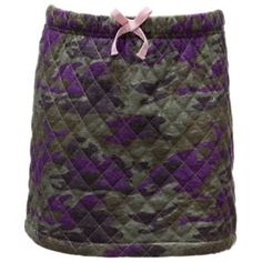 Bass Pro Shops Quilted Camo Skirt for Toddlers - Multi - 2T