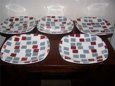 Samba Side Plates on the Patio shape