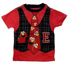 Sesame Street Elmo Class School Uniform Toddler T-Shirt Multi Color 3T TeeShirtPalace http://www.amazon.com/dp/B00MCZWRCK/ref=cm_sw_r_pi_dp_IHYRub0H0W9JT