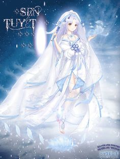 Selected by the system to help male lead, Ah Zhao did an amazing job, to the point of making him overpowered. After quick transmigration through various worlds, she became the wife of the Male God. Anime Oc, Chica Anime Manga, Anime Angel, Anime Girl Dress, Manga Girl, Chibi, Yuki Onna, Kleidung Design, Estilo Anime