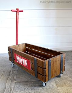Make a heirloom-quality wooden wagon for just $75 in materials!