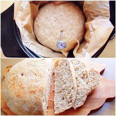 Slow cooker bread.