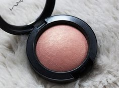 Mac Warm Soul Blush - perfect for summer not too shimmery works well with most skintones