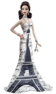 Barbie - Paris Barbie - Eiffel Tower