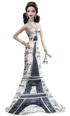 Barbie Collector of the World La Torre Eiffel Doll