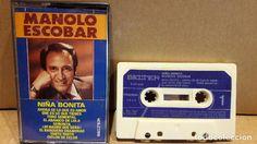 MANOLO ESCOBAR. NIÑA BONITA. MC / BELTER - 1980 / CALIDAD LUJO.
