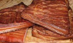 Curing bacon. I am addicted to the stuff. And I use it in a ton of my recipes . Does wild game need bacon in order to be turned into an outstanding meal? Not at all, it stands alone just fine. Bacon is just another ingredient...