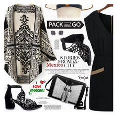 """""""Pack and Go: Mexico City"""" by katjuncica ❤ liked on Polyvore featuring Carianne Moore, Loro Piana, 21dgrs and Packandgo"""