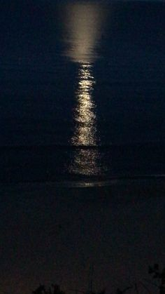 Moonlight on Water Moonlight Photography, Aesthetic Photography Nature, Moon Photography, Black Phone Wallpaper, Sunset Wallpaper, Dark Wallpaper, Sea Video, Foto Gif, Night Aesthetic