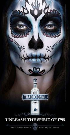 Day of the Dead, sugar skull, Halloween Sugar Scull, Sugar Skull Art, Sugar Skull Face Paint, Maquillaje Sugar Skull, Yeux Halloween, Halloween 2013, Los Muertos Tattoo, Catrina Tattoo, Artistic Make Up