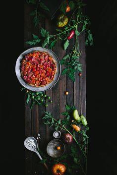 Tomato Chevre Tarte Tatin-2