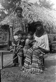 Robert Billy and his family by State Library and Archives of Florida, via Flickr